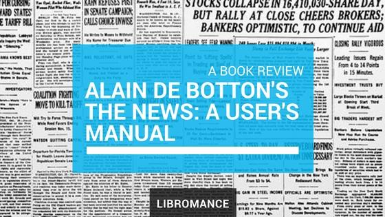 The Metaphysics of Reading the News, with Alain de Botton