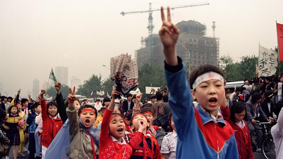 CHINA-BEIJING SPRING-DEMO