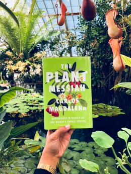 The Plant Messiah at the Conservatory of Flowers